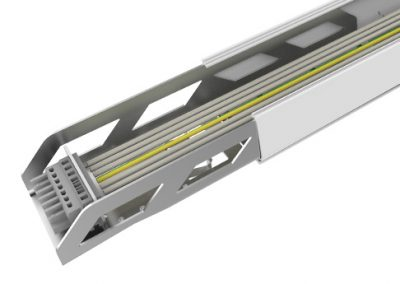 CARRIL MEGALINK LED 1436mm